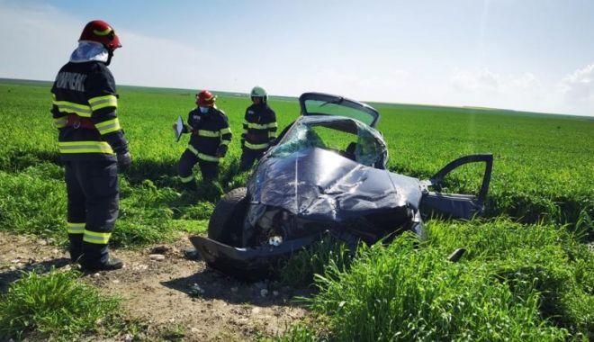 GALERIE FOTO. Accident grav, în ziua de Paşte. Trei persoane au fost rănite - 4-1619964162.jpg