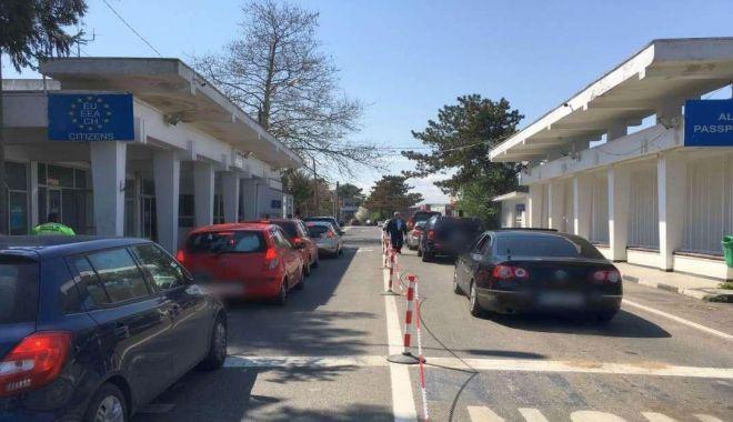 A scăzut traficul la punctele de trecere a frontierei din Constanța - punctefrontierasursapolitiadefro-1599487095.jpg