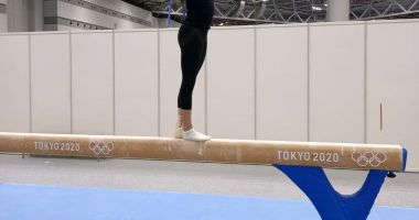 Olimpism / După infiltrații și fizioterapie, Larisa Iordache și-a reluat antrenamentele