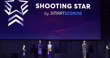 Teodora Cucu a primit trofeul Shooting Star la Europenele de aerobic