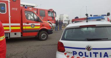 SFÂRȘIT TRAGIC! Un bărbat a murit după ce a căzut de pe o clădire!
