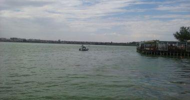 Alertă pe Lacul Siutghiol. Trei persoane, în pericol