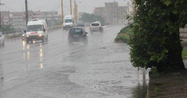 COD GALBEN de furtuni și ploi, la Constanța