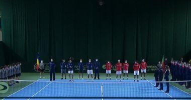 Cupa Davis: Marius Copil l-a învins pe Gastao Elias / România vs Portugalia 1-1 după prima zi