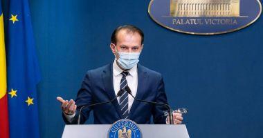 """Florin Cîţu: """"Certificatele verzi vor fi obligatorii în magazinele neesenţiale"""""""