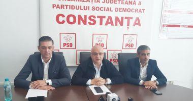 """Foto - Organizaţia PSD Constanţa: """"Oamenii nu au bani pentru facturi! Acest guvern trebuie să plece acasă!"""""""
