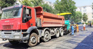 Se reabilitează trama stradală din municipiul Constanța