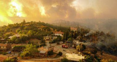 Incendii devastatoare în Grecia, Turcia şi Italia