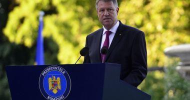 Klaus Iohannis, de Ziua Imnului: Să rămânem uniţi în jurul simbolurilor naţionale