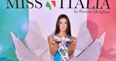 O româncă de 19 ani s-a calificat în finala națională a concursului Miss Italia