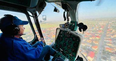 Administraţia locală din Năvodari organizează o nouă acţiune de dezinsecţie aeriană