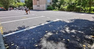 Noi locuri de parcare, amenajate în zona Dacia