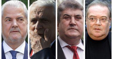Sute de foști parlamentari, în frunte cu Adrian Năstase și Gabriel Oprea, își cer în instanță pensiile speciale înapoi
