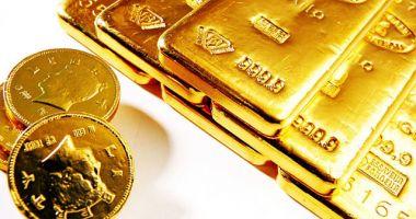 Prețul aurului a scăzut cu 1,01%