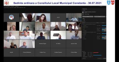 LIVE TEXT - Consilierii locali din Constanța, reuniți în ședință. Marele absent, EDILUL VERGIL CHIȚAC