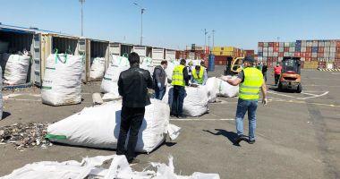 """Foto - Semnale de alarmă din Portul Constanța: """"Ajungem groapa de gunoi a Europei!"""""""