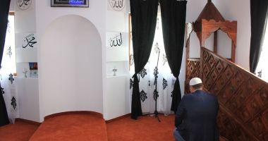 Slujbă de Ramazan Bayram, la Geamia Hunchiar din Constanța